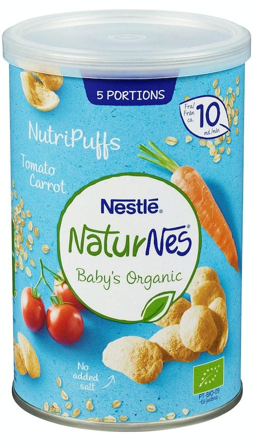 Nestlé Naturnes Nutripuffs Tomat, 35 g