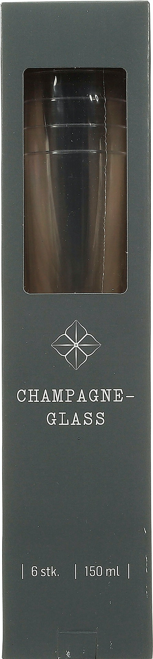 REMA 1000 Champagneglass i Plast 6 stk