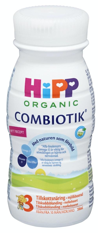 Hipp Combiotik Drikkeklar 3 Fra 12 mnd, 200 ml