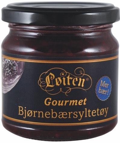Løiten Bjørnebærsyltetøy Gourmet 200 g