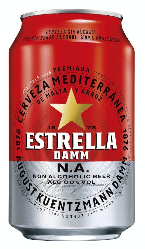 Estrella Damm Alkoholfri, 0,33 l
