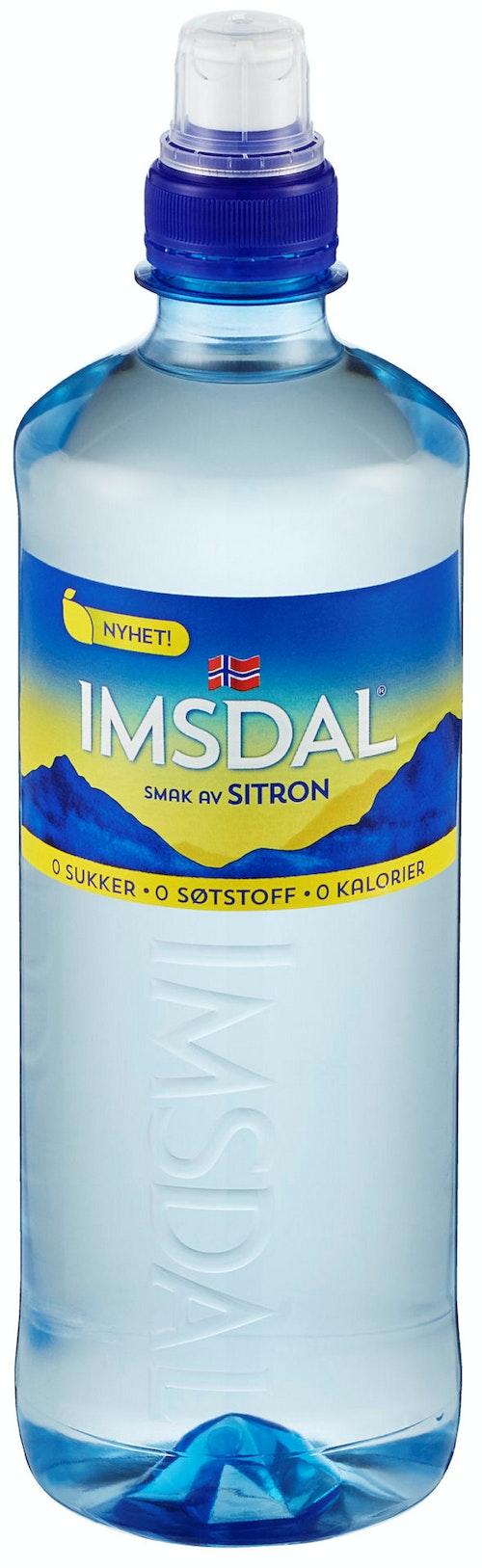 Imsdal Imsdal Sitron 0 kalorier, 0,65 l