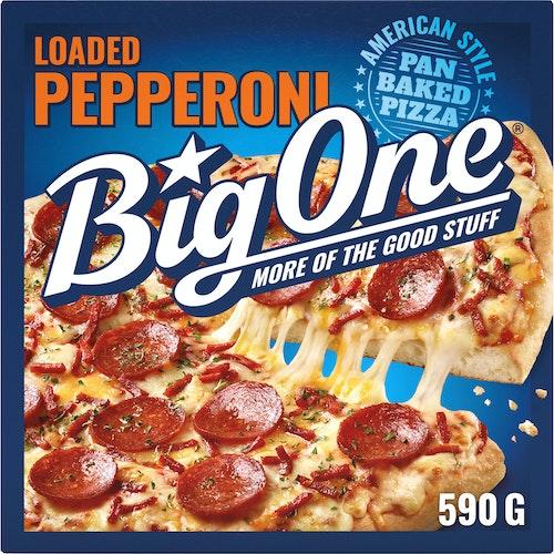 Big One Big One Pepperoni Pizza 590 g