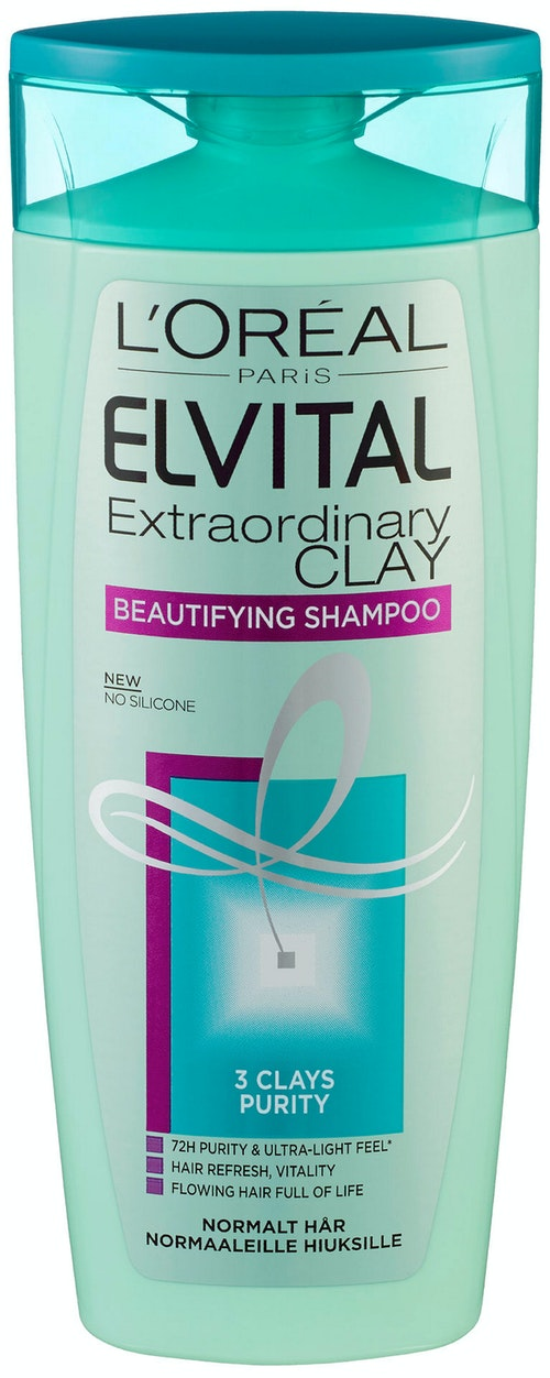 Elvital Extraordinary Clay Shampo ElVital, 250 ml