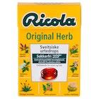 Ricola Original Med Stevia