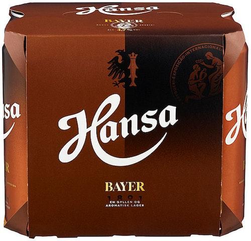 Hansa Borg Hansa Spesial Bayer 6 x 0,5l, 3 l