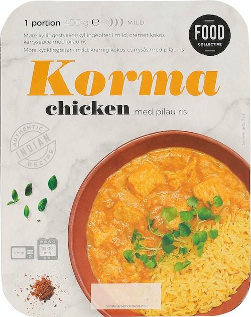 Food Collective Chicken Korma 450 g