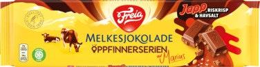 Freia Melkesjokolade Japp, Riskrisp & Halvsalt 190 g
