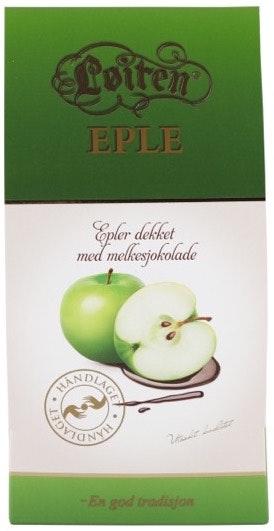 Løiten Fruktsjokolade Eple 120 g