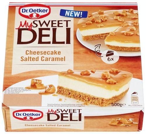Dr. Oetker Cheesecake Salted Caramel 500 g