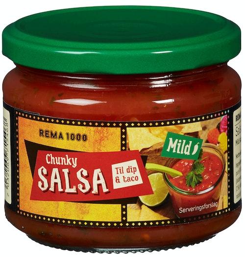 REMA 1000 Salsasaus Chunky Mild, 315 g