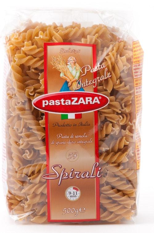 Pasta Zara Pastaskruer Fullkorn 500 g