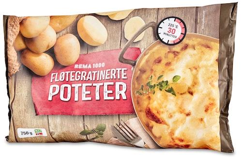 REMA 1000 Fløtegratinerte Poteter 750 g