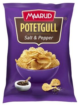 Maarud Potetgull Classic Salt & Pepper, 260 g
