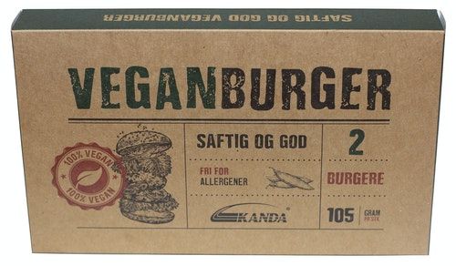 Kanda Vegan Hamburger 2 stk