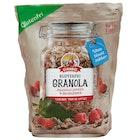 Glutenfri Granola Bringebær