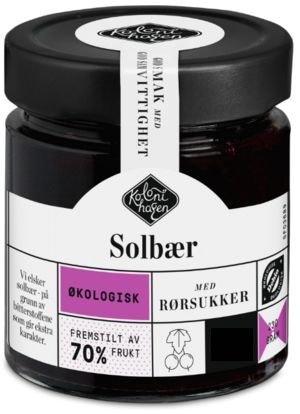 Kolonihagen Syltetøy Solbær Økologisk, 230 g