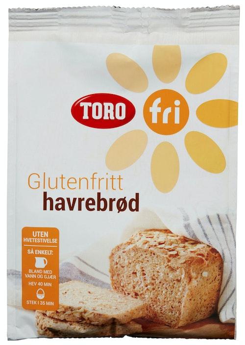 Toro Havrebrød Glutenfri 409 g
