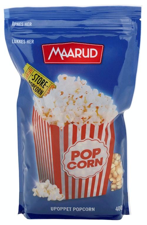 Maarud Popcorn Upoppet 400 g