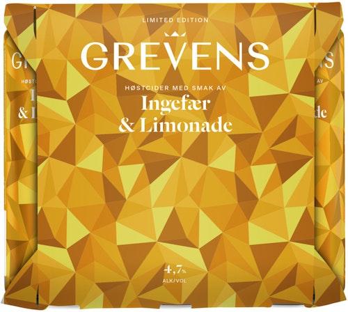 Grevens Grevens Høst Ingefær & Limonade 3 l