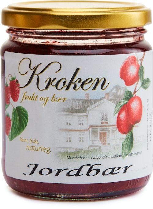 Kroken Frukt & Bær Håndlaget Jordbærsyltetøy 300 g