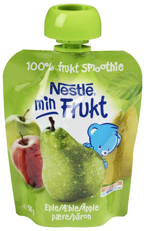 Nestlé Min Frukt Eple & Pære Smoothie fra 6 mnd, 90 g