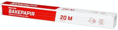Bakepapir Rull 20 m
