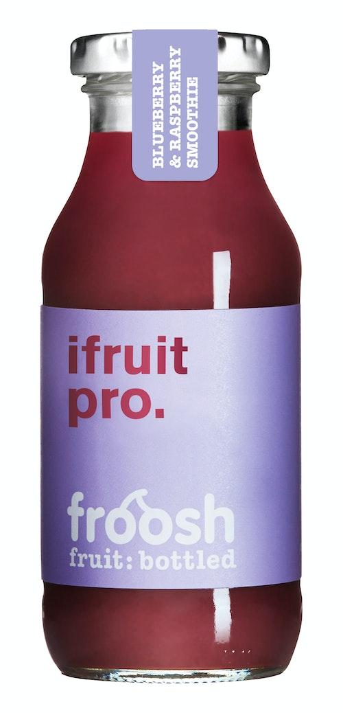 Froosh Smoothie Blåbær & Bringebær 250 ml