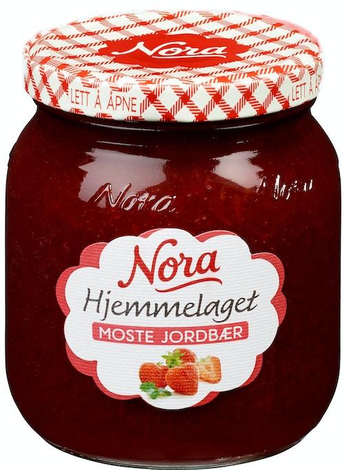 Nora Moste Jordbær Hjemmelaget 390 g