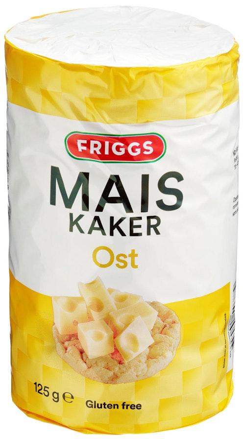 Friggs Friggs Maiskaker Ost 125 g