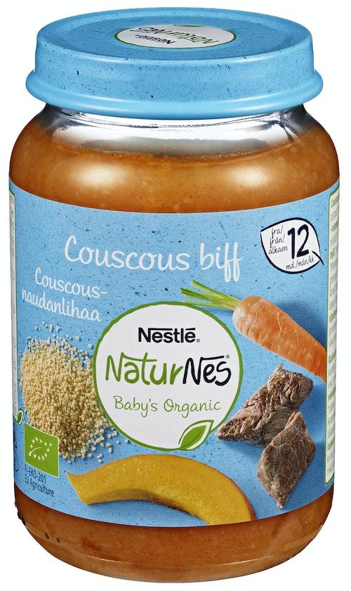 Nestlé NaturNes Couscous Biff Fra 12 mnd, 190 g