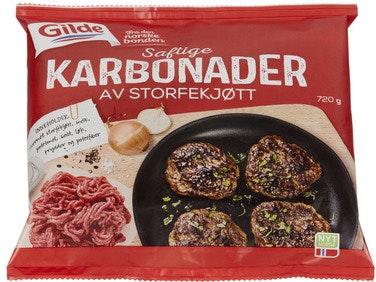 Gilde Karbonader 720 g