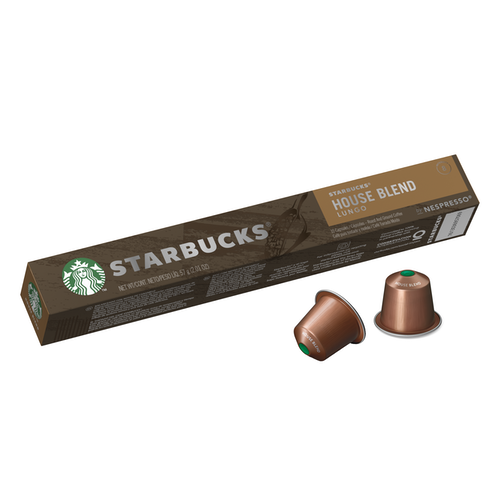 Starbucks Starbucks House Blend Intensitet 8, 10 stk