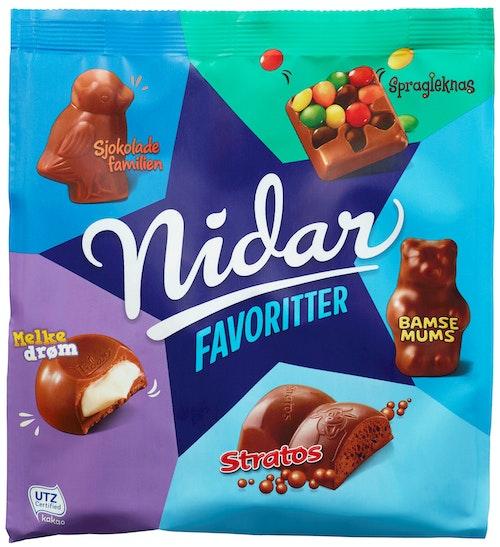 Nidar Nidar Favoritter Stratos 300 g