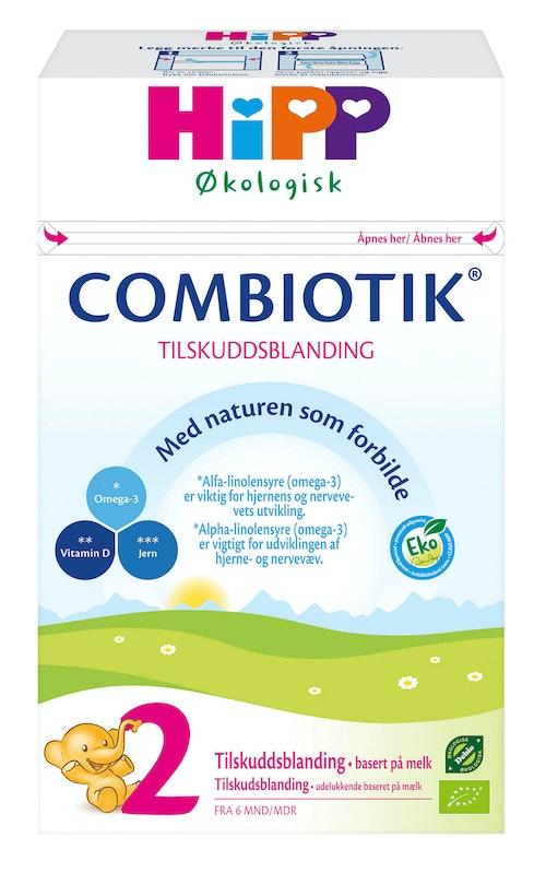 Hipp Combiotik Pulver 2 Fra 6 - 12 mnd, 450 g