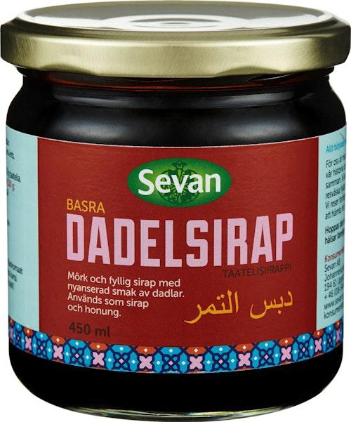 Sevan Daddelsirup 450 ml