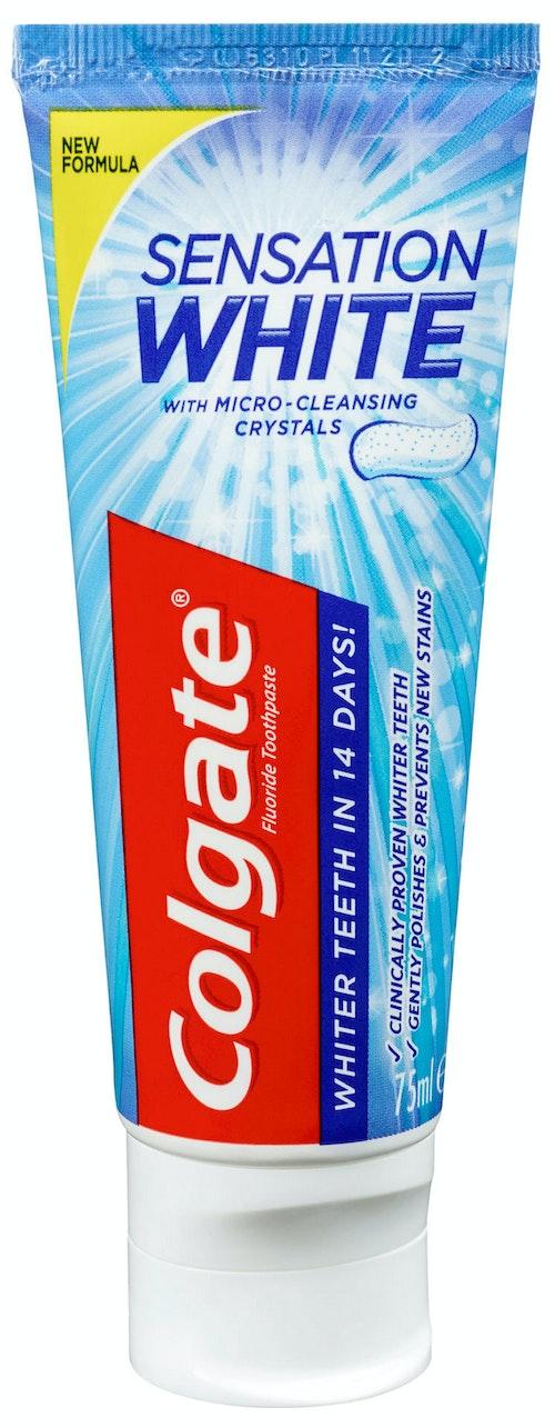 Colgate Tannkrem Sens White 75 ml