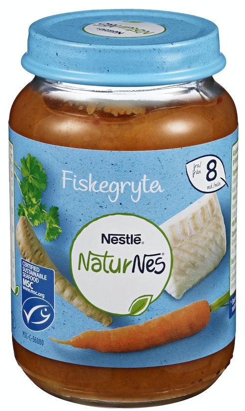 Nestlé Naturnes Fiskegryte Fra 8 mnd, 190 g